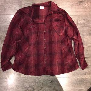 Columbia Flannel Shirt 2X